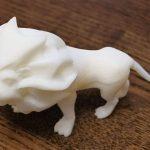 Лев на 3d принтере