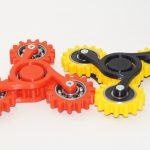 Hand spinner: four gears на 3d принтере
