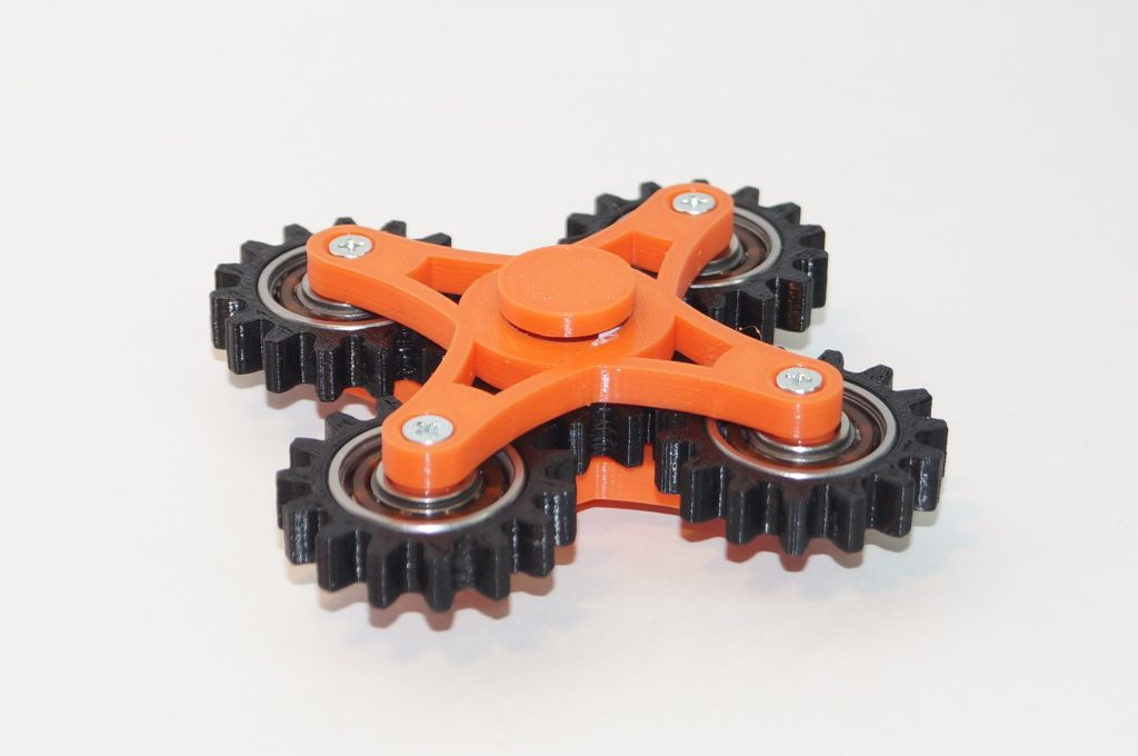 Hand spinner на 3d принтере