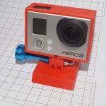 Крепление GoPro на штатив на 3d принтере