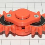 Hand spinner: two gears на 3d принтере