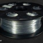 Пластик для 3d принтера PETG прозрачный