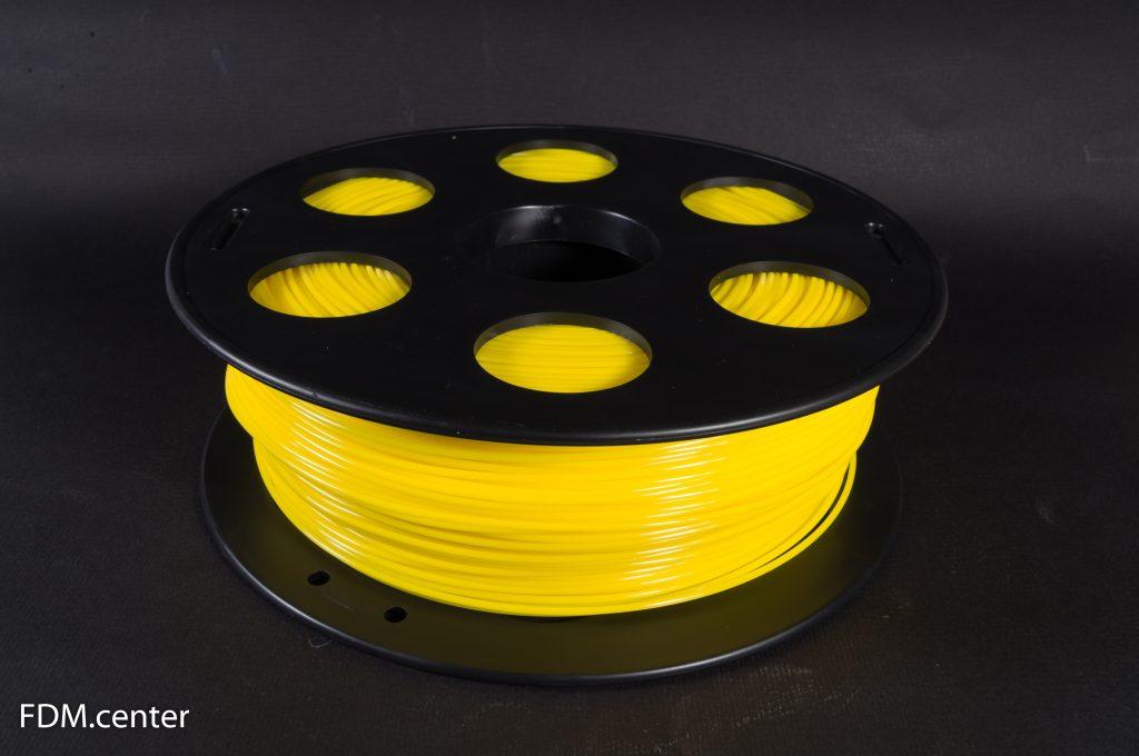Катушка пластика PLA желтый
