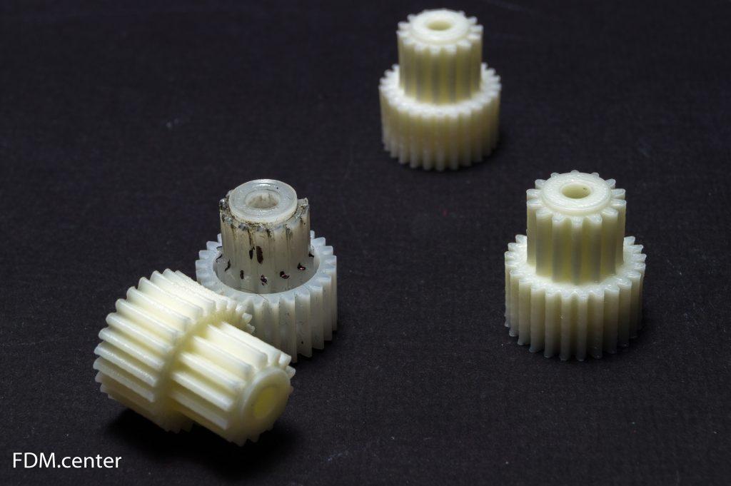 Шестеренка от комбайна Сатурн 3d печать