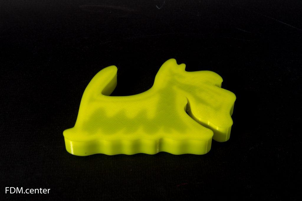 Форма для печенья Терьер 3d печать