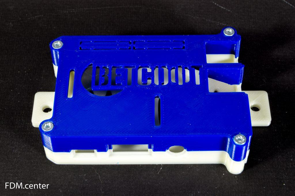 Корпус raspberry pi с кастомным логотипом 3d печать