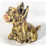 Собака с мячиком в зубах сувенир 3d печать