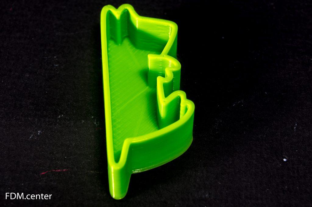 Формочка для печенья 3d печать