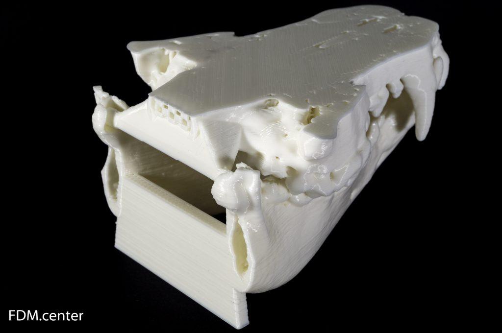 Раскладные челюсти собаки 3d печать
