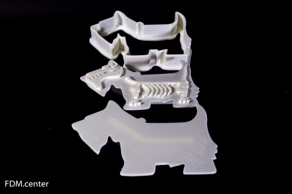 Разборные формочки для печенья Терьер 3d печать