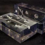 Медицинский тренажер, имитирующий патологию трахеи, литье