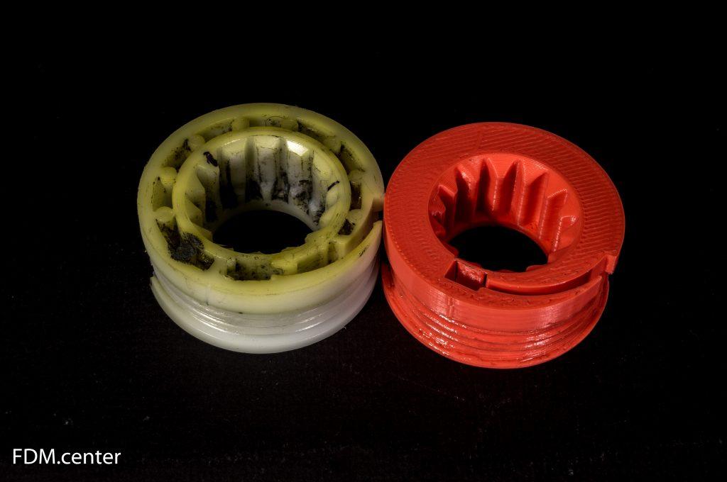 Деталь ручного стеклоподъемника AUDI 3d печать