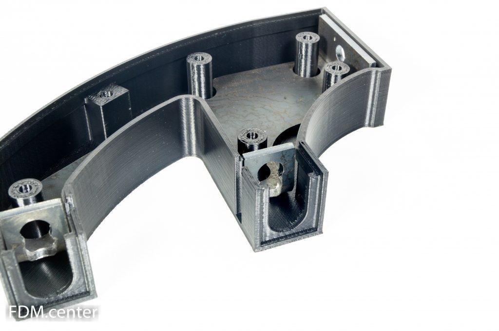 Корпус кронштейн прожектор УАЗ Патриот 3d печать
