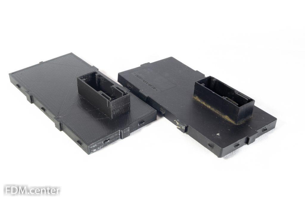 Крышка блока BMW 3d печать