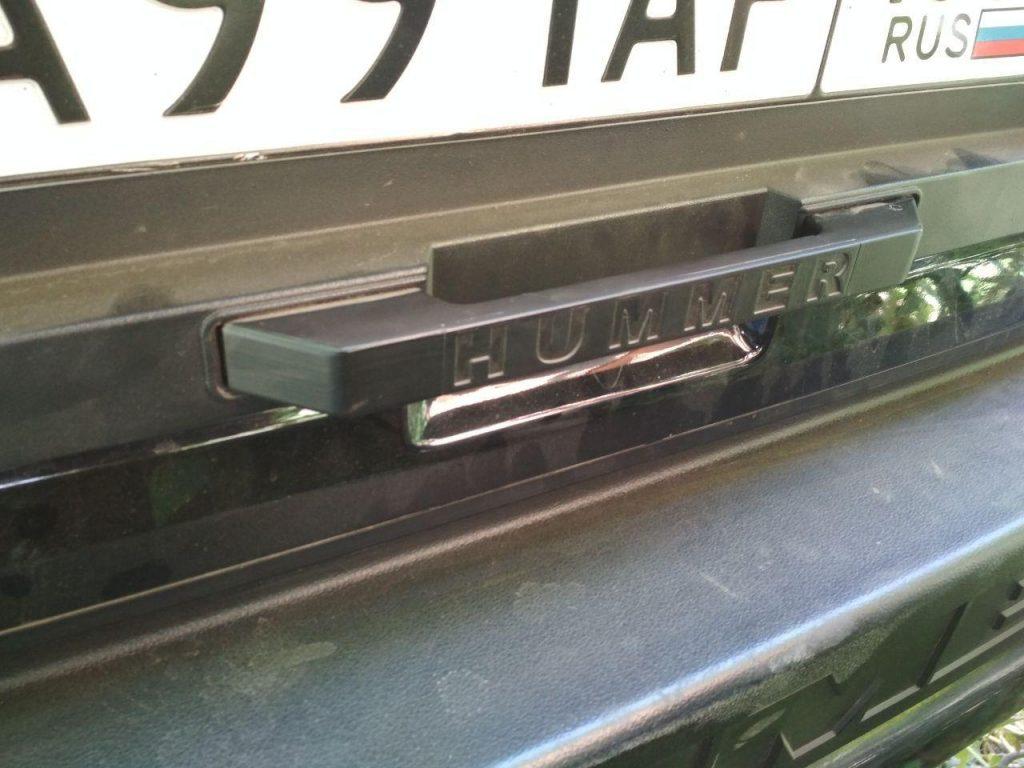 Ручка hummer 2 3d печать
