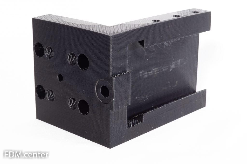 Кронштейн двигателя мебельного станка 3d печать