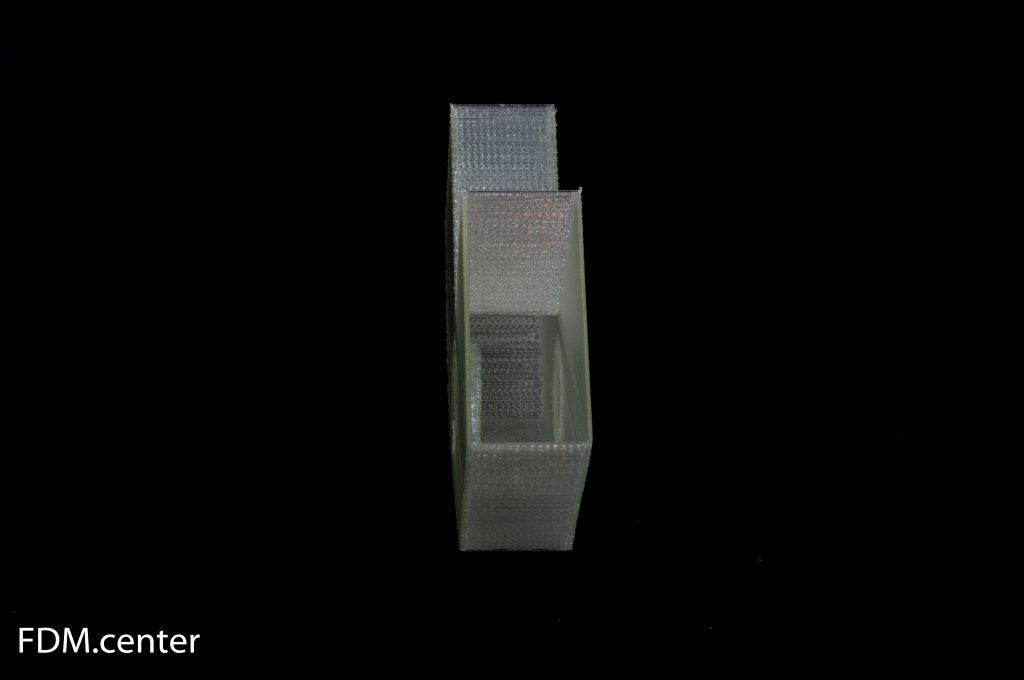 Уголок для соединения двух реек 3d печать