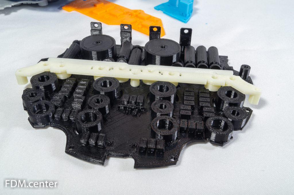 Часть макета электронного устройства с платами 3d печать