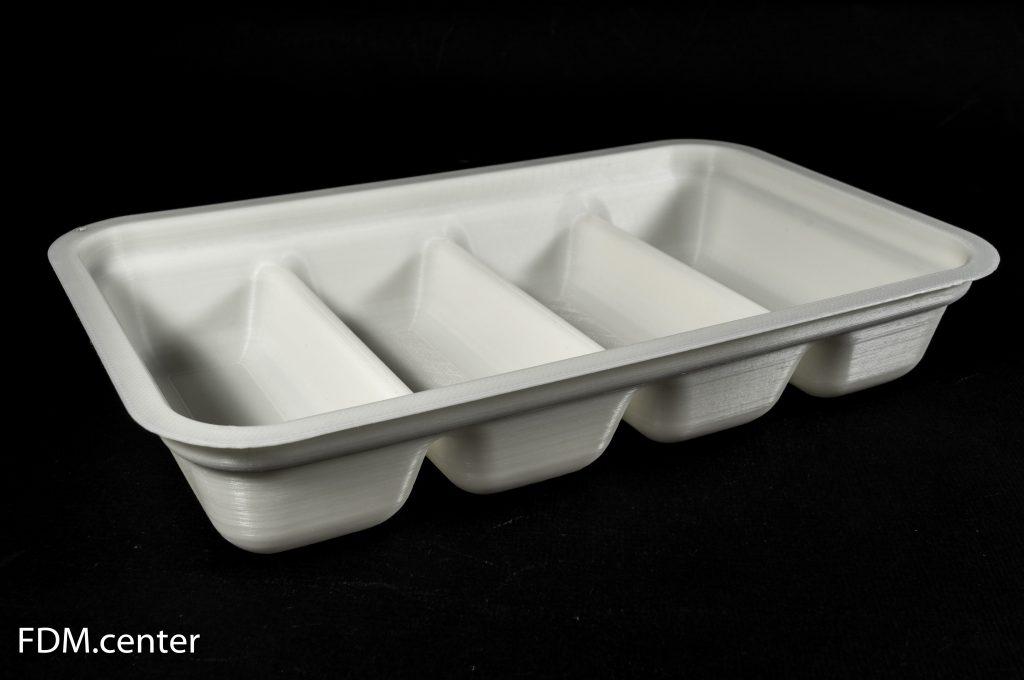 Модель лотка для пищевых продуктов 3d печать