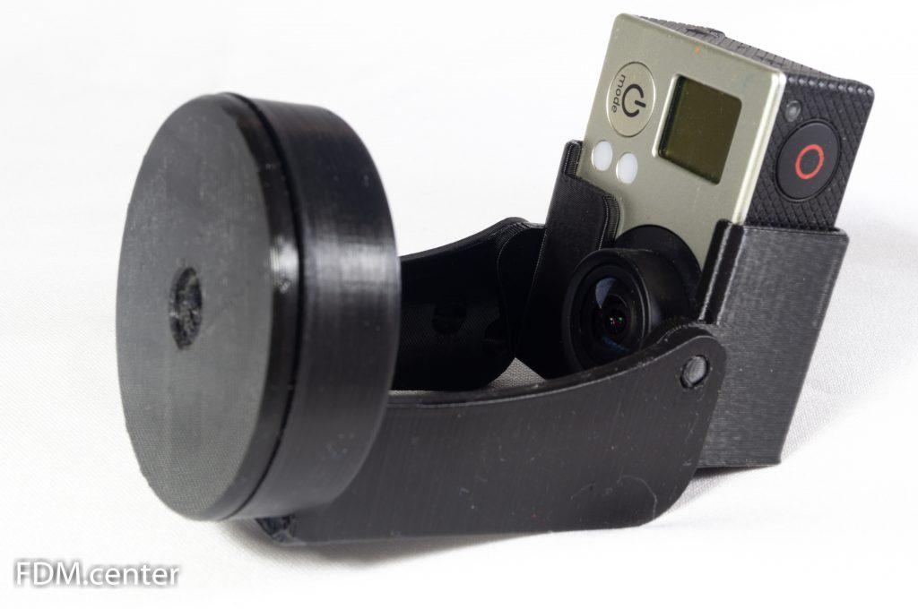 Панорамная штативная головка GoPro 3d печать