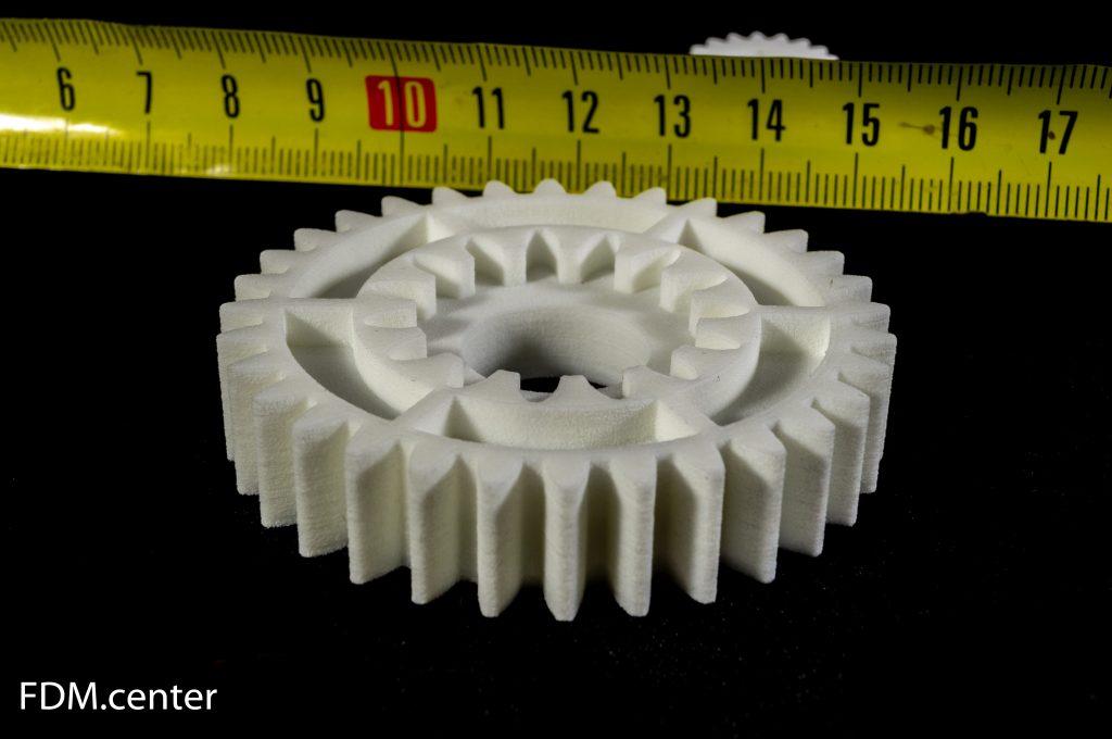 Шестеренка от шредера SLS 3d печать