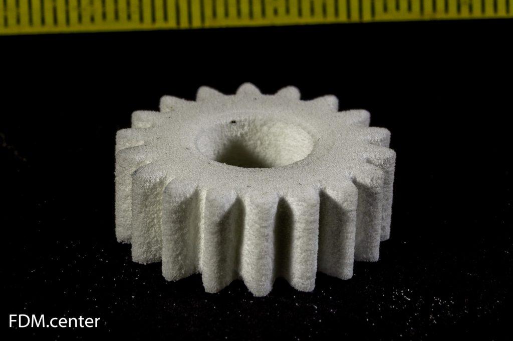 Шестеренка SLS 3d печать