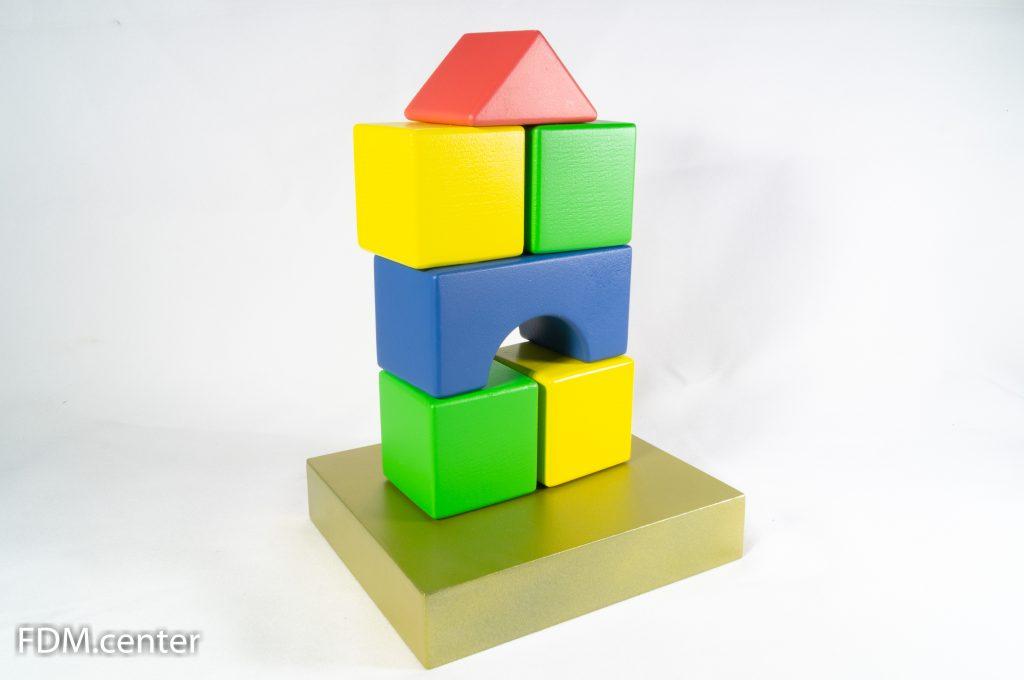 """Корпоративный сувенир """"Детские кубики"""" 3d печать"""
