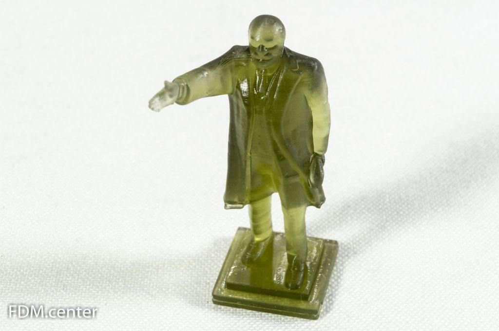 Макет памятника В.И. Ленину 3d печать фотополимерная