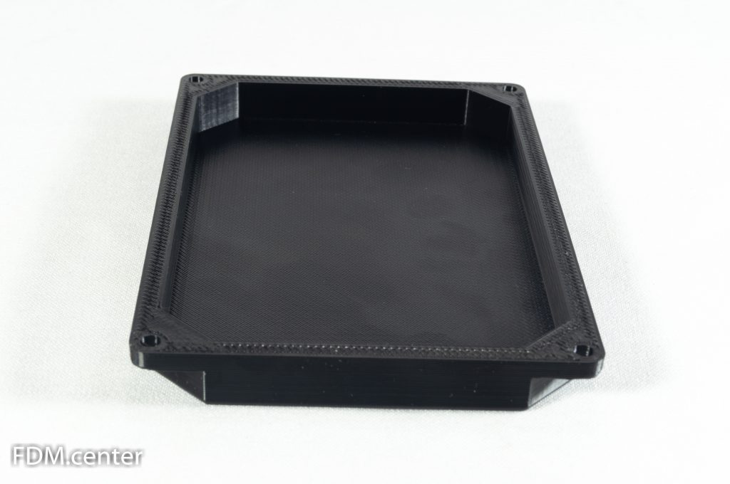 Крышка от электронного автомобильного блока 3d печать