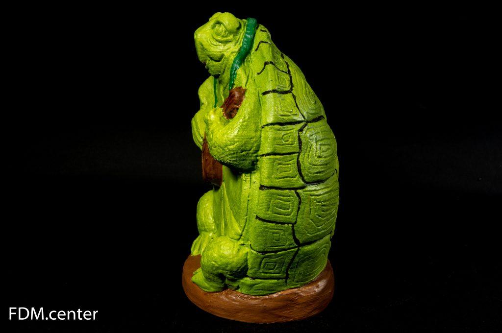 """Сувенир """"Зеленая черепаха"""" 3d печать"""
