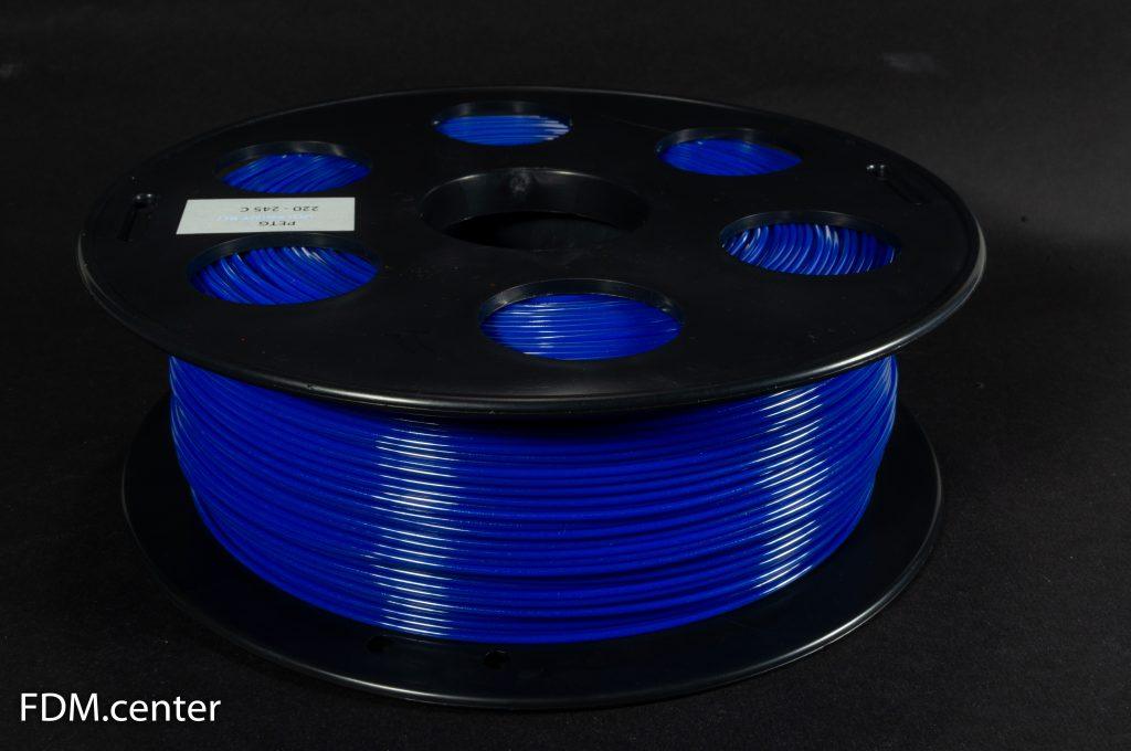 Пластик для 3d принтера PETG синий