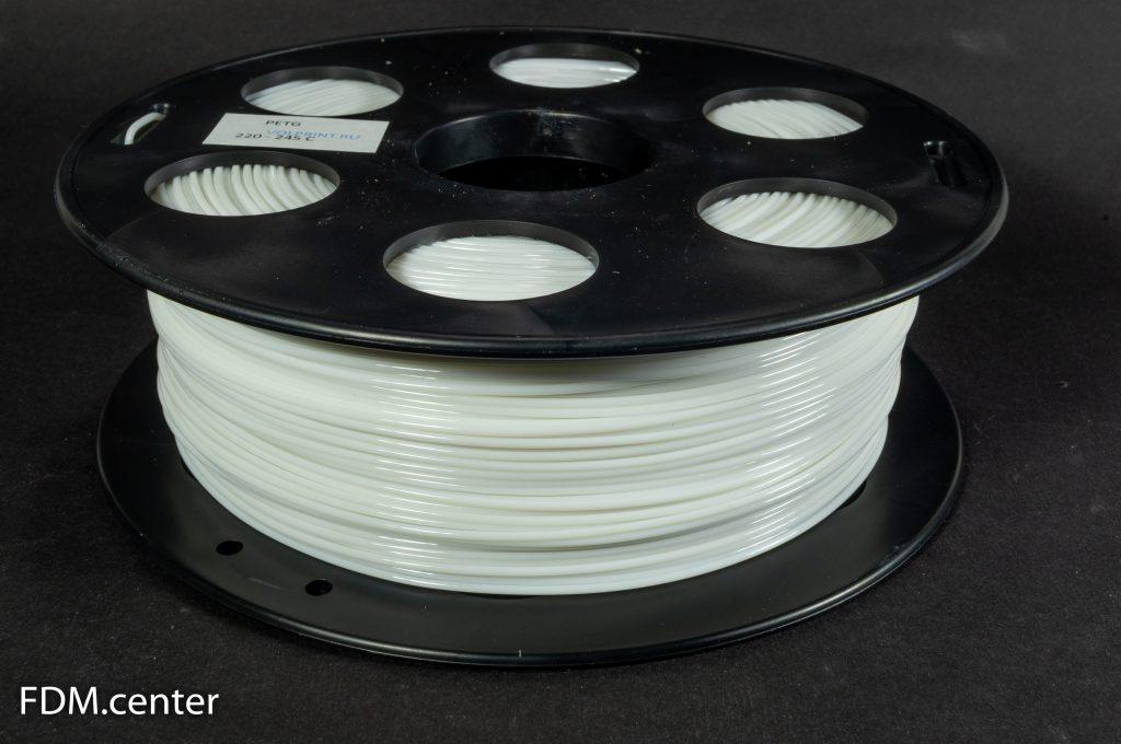 Пластик для 3d принтера PETG белый
