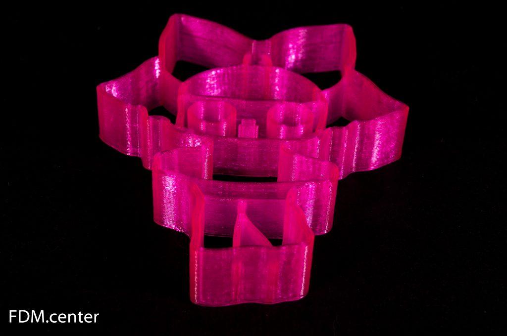 Форма для печенья 3D печать