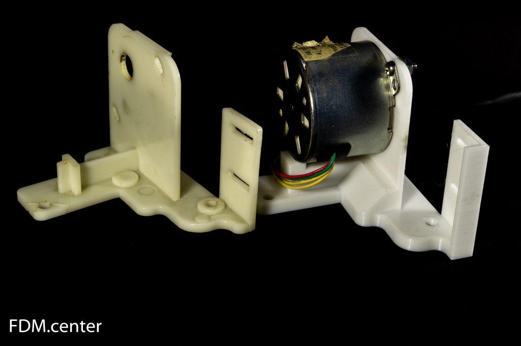 Крепление электродвигателя 3d печать