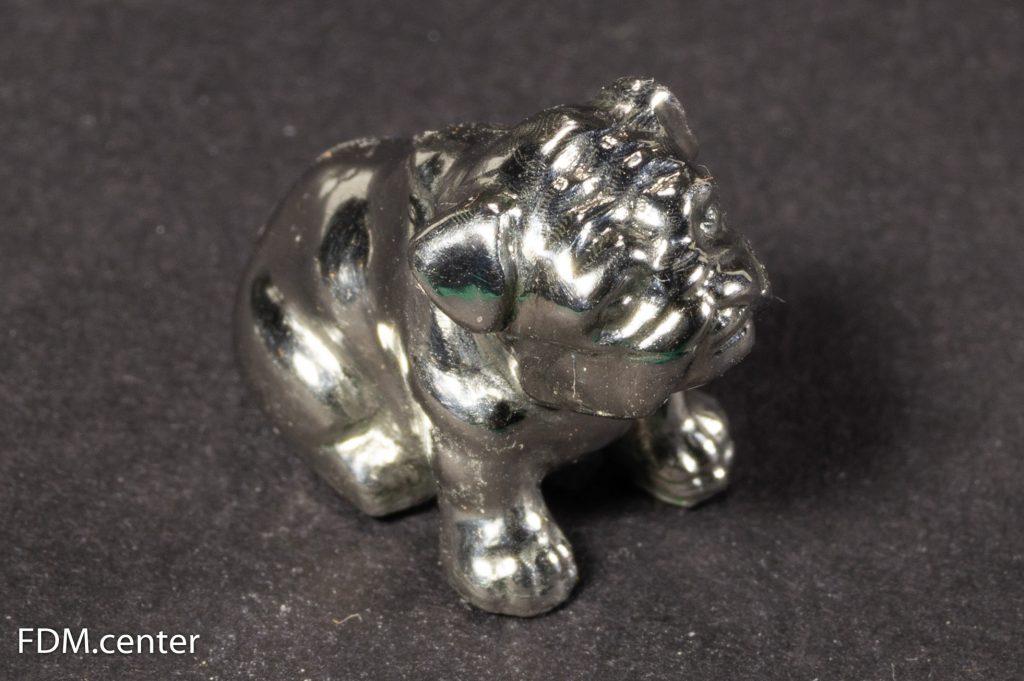 Собака из металла 3d печать