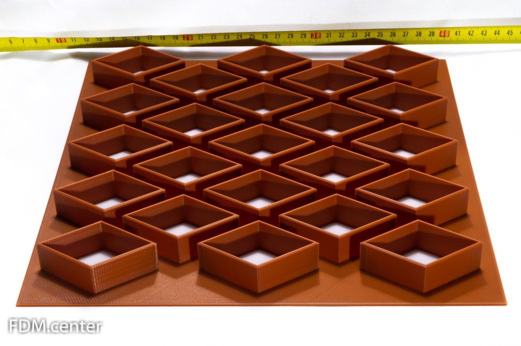 Вырубка для печенья для кондитерской фабрики 3d печать