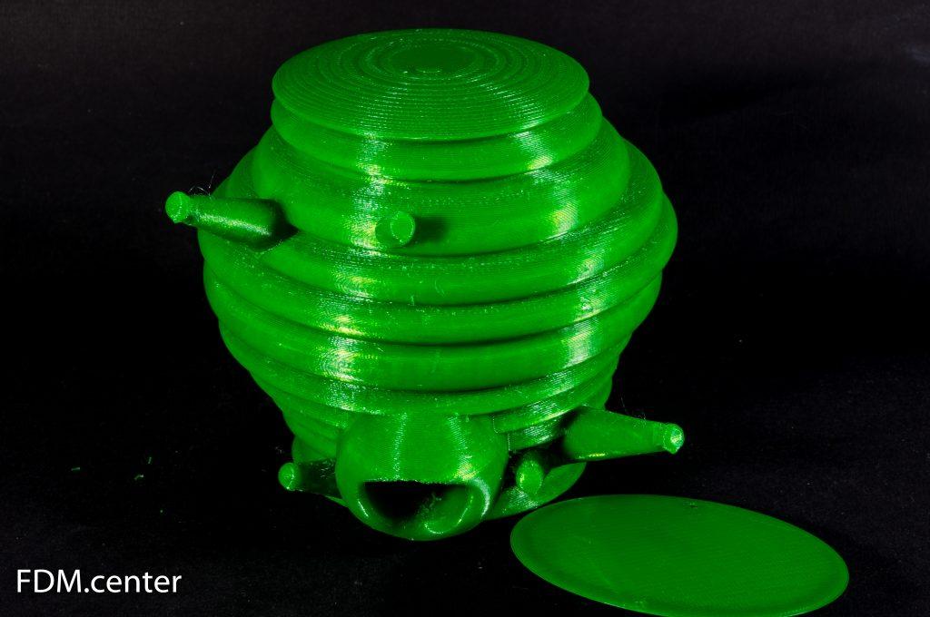 Зеленый улей 3d печать