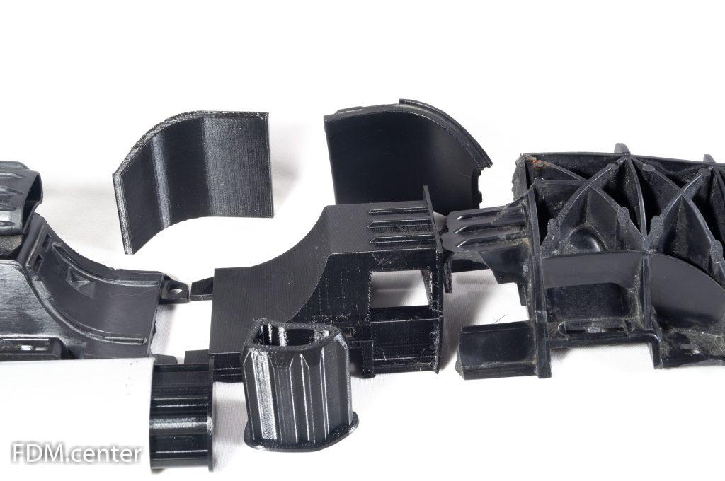 Отремонтированная деталь 3d печать