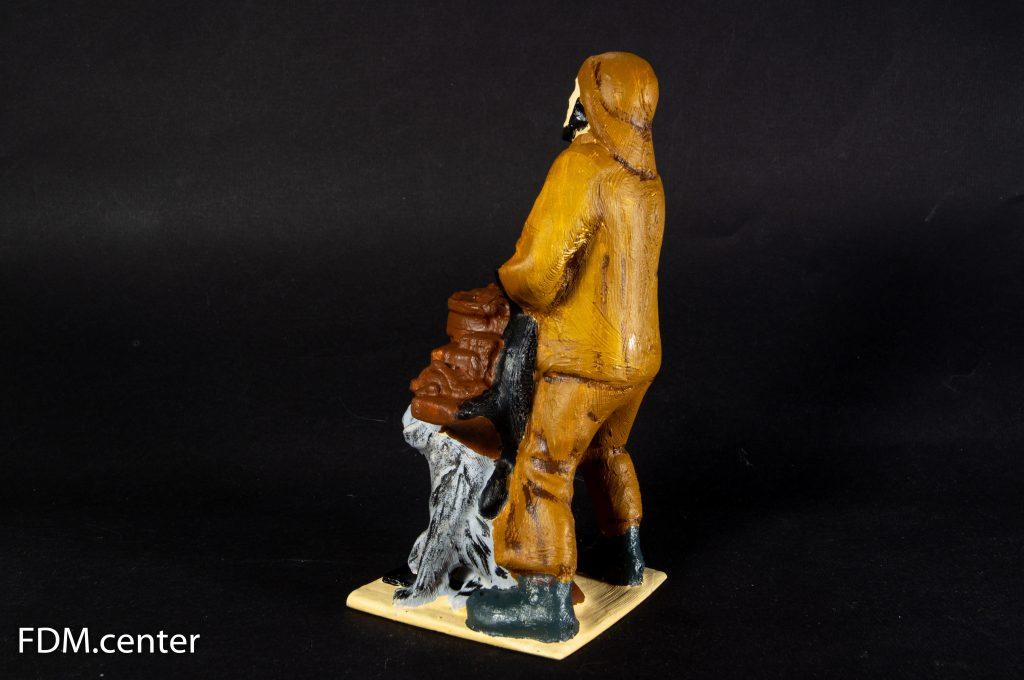 Фигурка моряка 3d печать