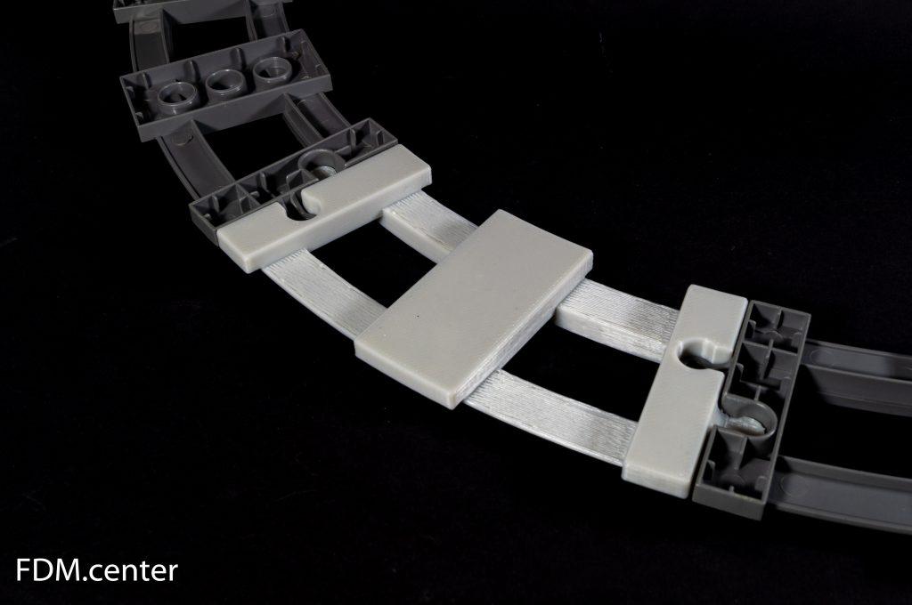 Часть игрушечной железной дороги 3d печать