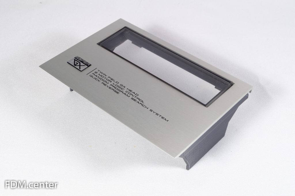 Крышка кассетоприемника AKAI GX-F31 3d печать
