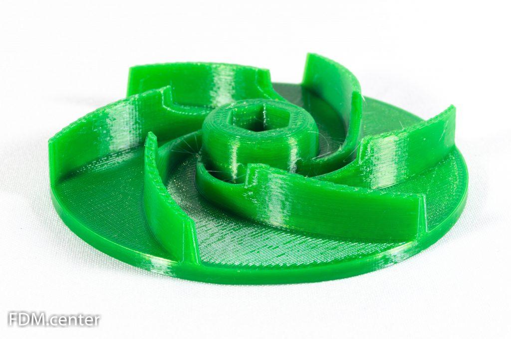 Крыльчатка зеленая 3d печать