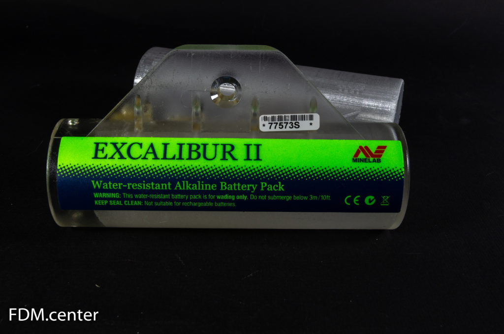 EXCALIBUR 2 alkaline battery pack 3d печать