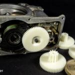 Шестеренки заслонки volvo 30711551 3d печать
