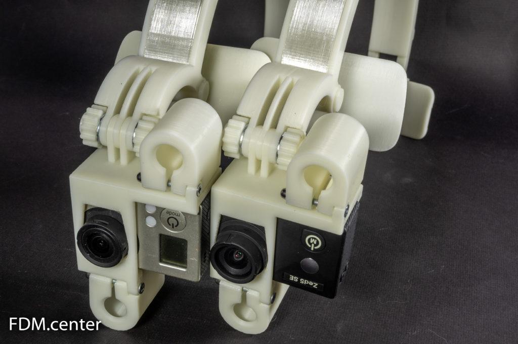 Шлем для экшн камеры 3d печать